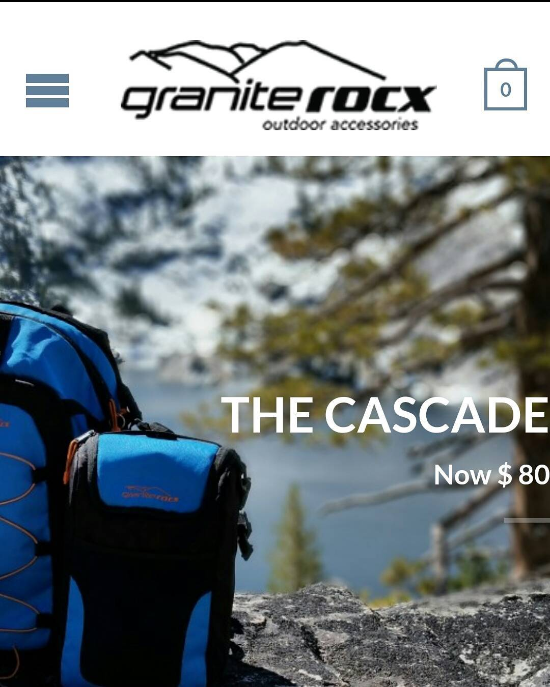 We've launched our new website!  Take a look and let us know what you think!  graniterocx.com,  link is in our profile also.  #getoutside #backpacks #coolers #adventure #graniterocx #outdoorsrocx