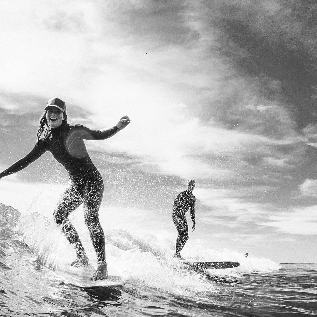 OG Matuse Family Member, @surfkat, well suited in the Ichiban aka #geoprene aka the 4/3mm Artemis Fullsuit PC TBD #ckth #lovematuse