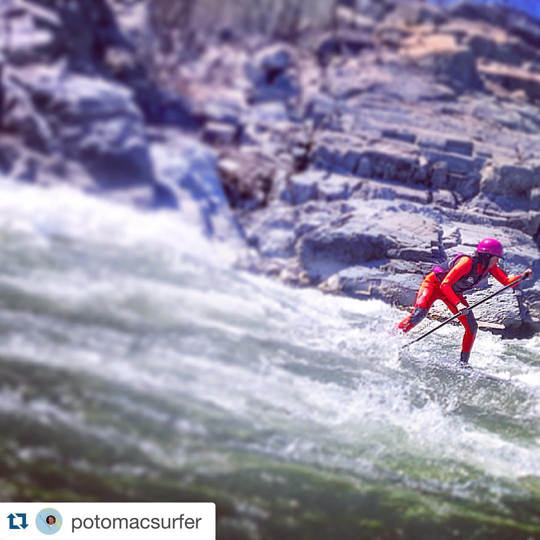 Thanks for the share @potomacsurfer!  Glad the #vixen is keeping you safe!  #cuzrockshurt
