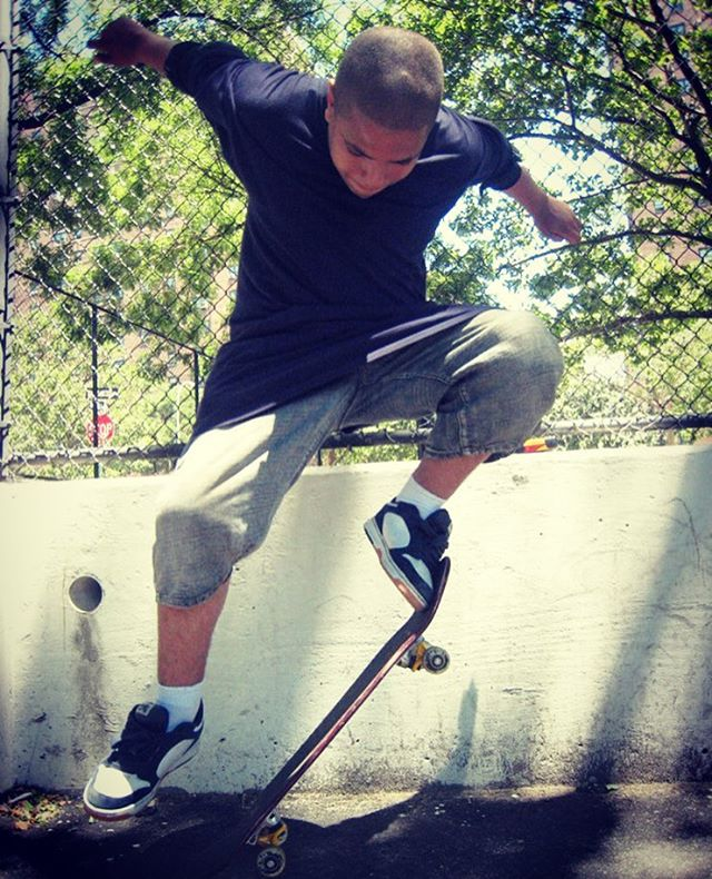 Teaching resilience, confidence, fearlessness and life skills through skateboarding