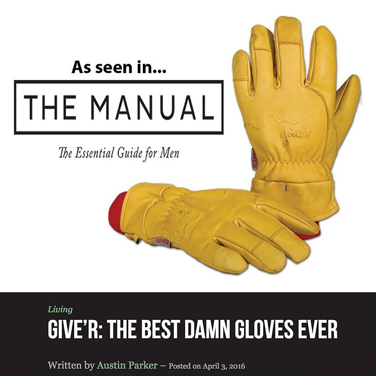 So excited about this article by @themanualguide be sure to head over to their website and check it out!! #gearreview #4seasongloves