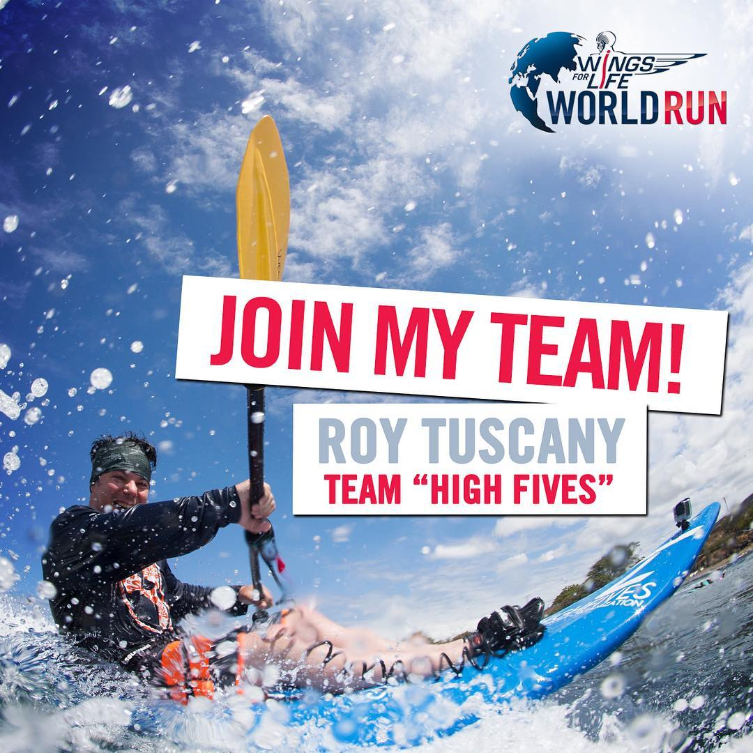 @wflworldrun! 3 million people are currently living with a spinal cord injury and thousands more will suffer an injury each year. Become a positive agent of change, help fund a cure for paralysis!! Join us May 8th at 4am for #worldrun at the...