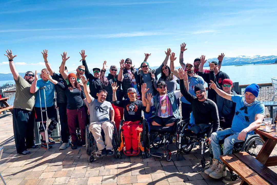 We had an amazing time during @adaptivetrainingfoundation x High Fives x @squawalpine #militarytothemountains program last week! Look for the release of all the photos on our facebook page later today.