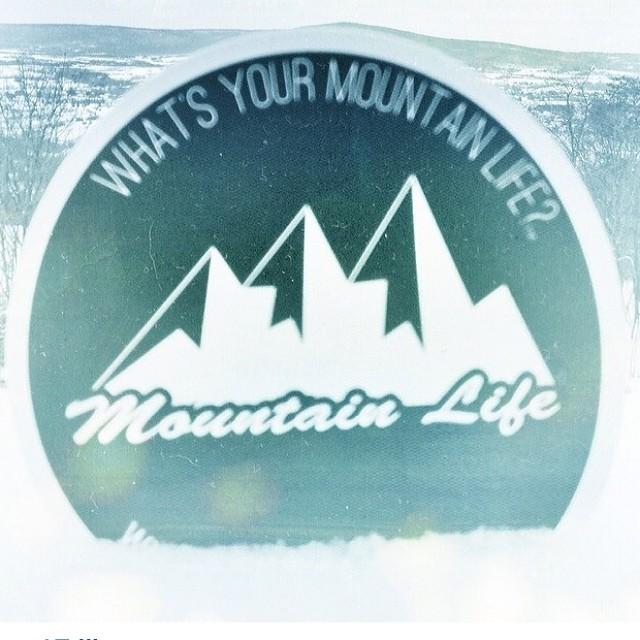 #Shoutout to @brizzmynizz for #repping the #mountainlife #mountainlifeco what's your #mountainlife #climbing #hiking #biking #cycling #skiing #snowboarding #bouldering #iceclimbing #heliski #backcountry #BMX #skateboarding #longboarding #shred some...