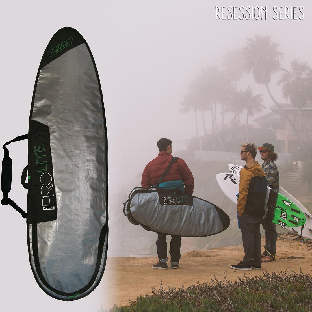 Light on cash? That's no excuse to not use protection! The @proliteint Resession day bag is the poor mans choice for transporting your knife no matter what the Checkbook says! Available in shortboard, longboard, and fish/hybrid. Find out more on...