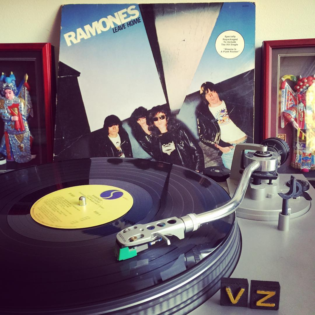 How about a little chaos for your day from the one and only #Ramones! It's #TurntableTuesday and we want to jam with you! #VonZipper #SupportWildLife
