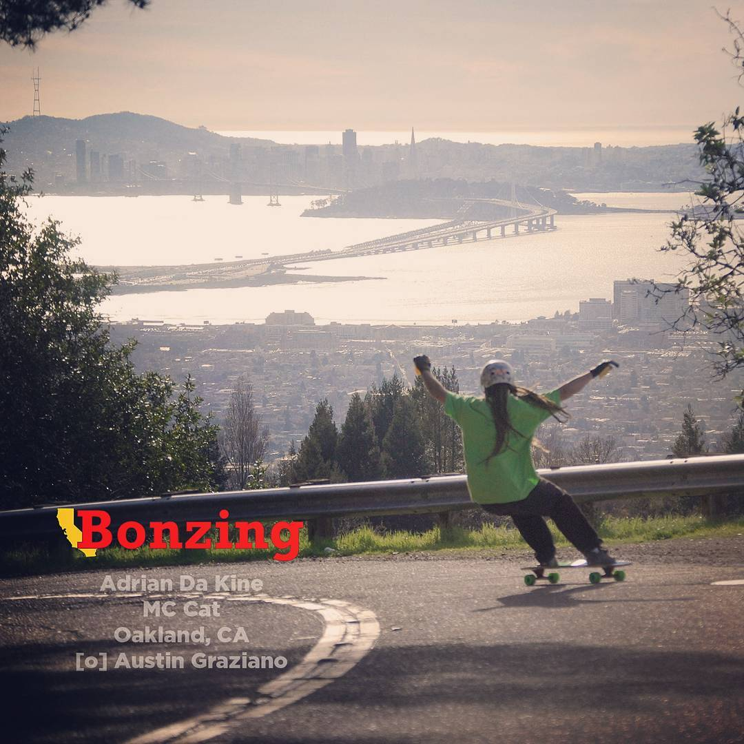 Pickup last months Wallpaper Wednesday at BonzingSkateboards.com!  New Wallpaper Wednesday drops tomorrow and its hot!  #bonzing #oakland #california #shapers #artists