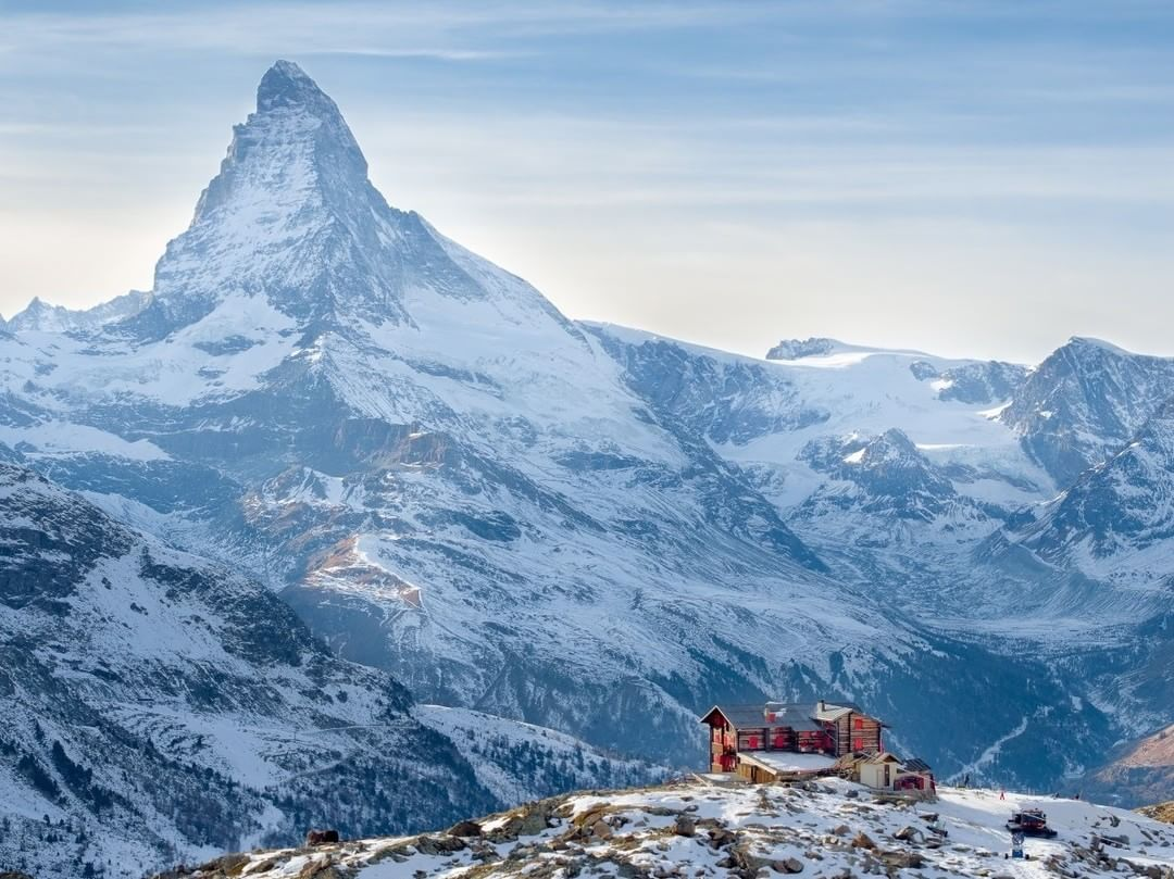 Fluhalp, Switzerland or Anaheim, California? #Matterhorn  Credit: Jean Wimmerlin