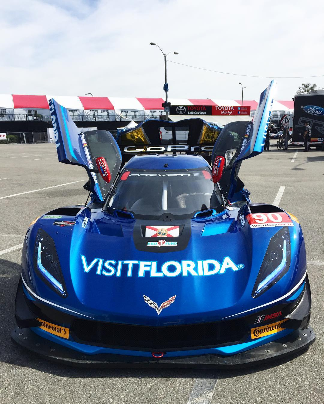 We saw a little more than just drift cars at #FDLB Media Day.