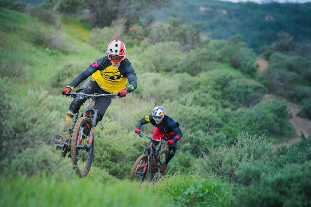 Our final instalment of video shot during our #SixSixOne #RidersCamp. Current UCI Downhill World Champion @loicbruni29  and team mate @lorisvergier take to the hills close to our new San Clemente office. The Downhill season is right around the corner!...