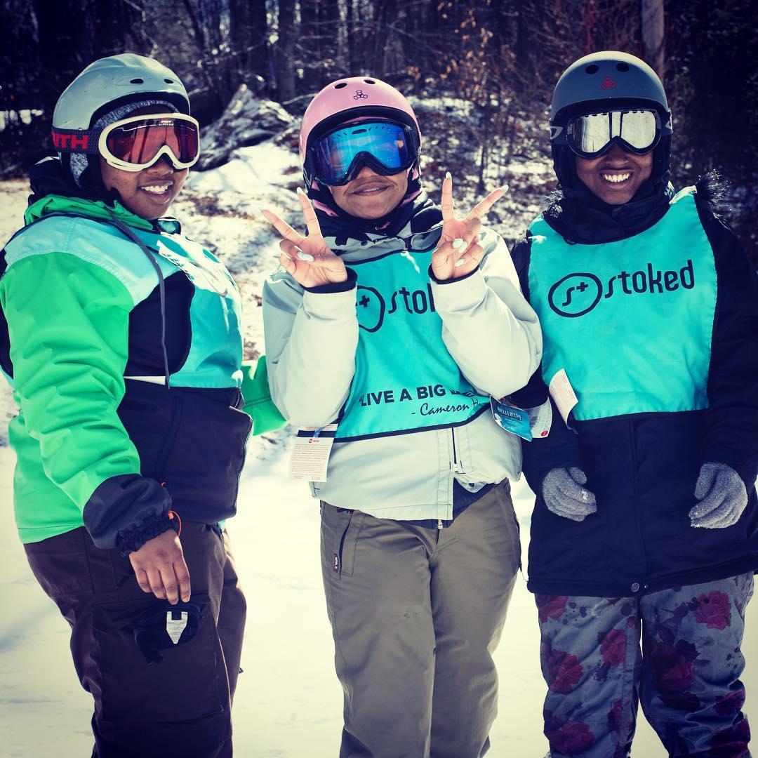 We had a fantastic snow season this year! Go to stoked.org/blog and read why this was our best winter yet! Thanks to all of our supporters and our mentors at @stoked_nyc & @stoked_la for making this happen! @belleayre @_nwac_ @snow_summit