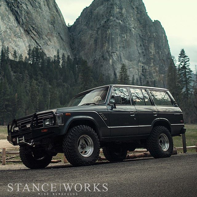 "STOLEN: Our good friend @mike_stanceworks 1988 Toyota Land Cruiser, TN LICENSE PLT: 58367AA - Grey/Blue in color, 16"" 3 spoke wheels, ARB front bumper, custom swing out rear bumper just installed.   Last seen in Tustin/Orange County California.   Call..."