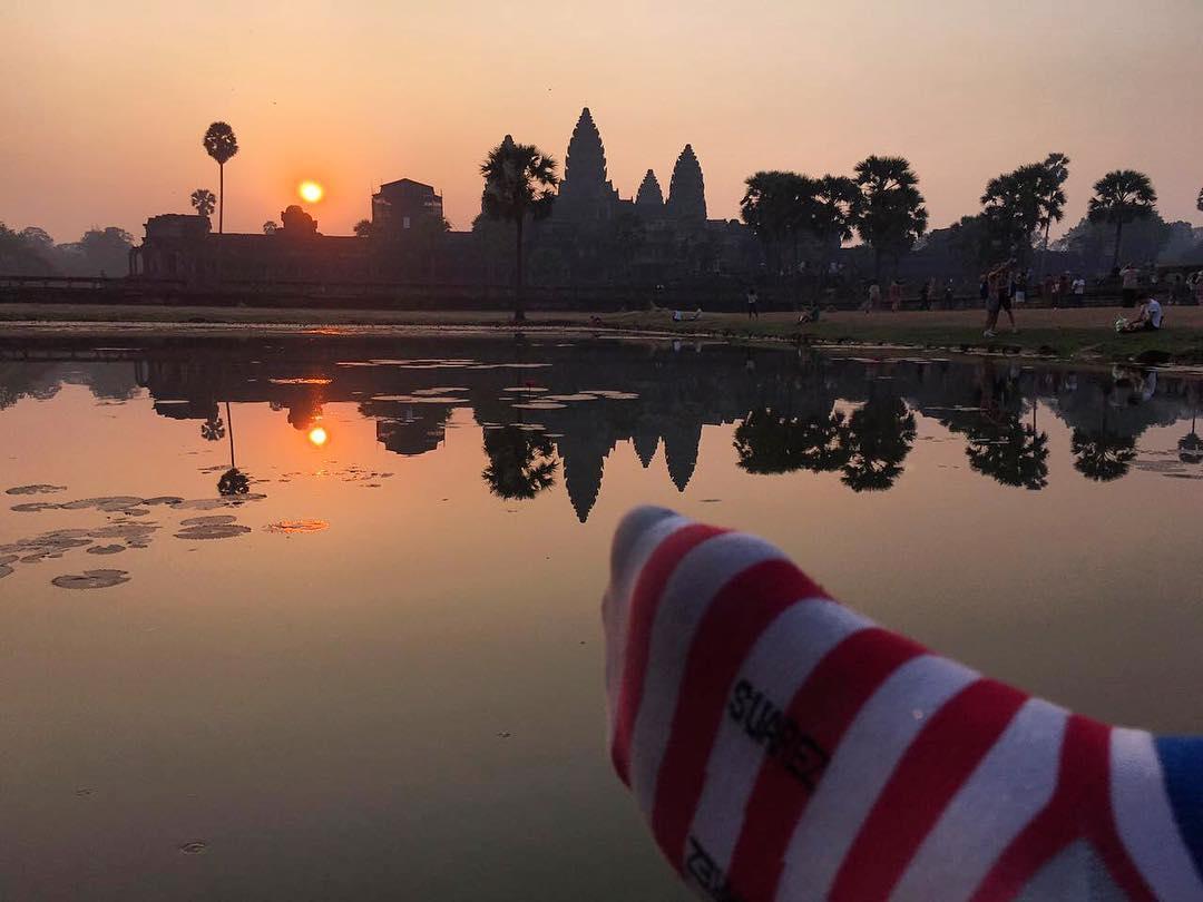 Arriba ese miércoles!! Seguimos desde #Camboya con un #FOTON