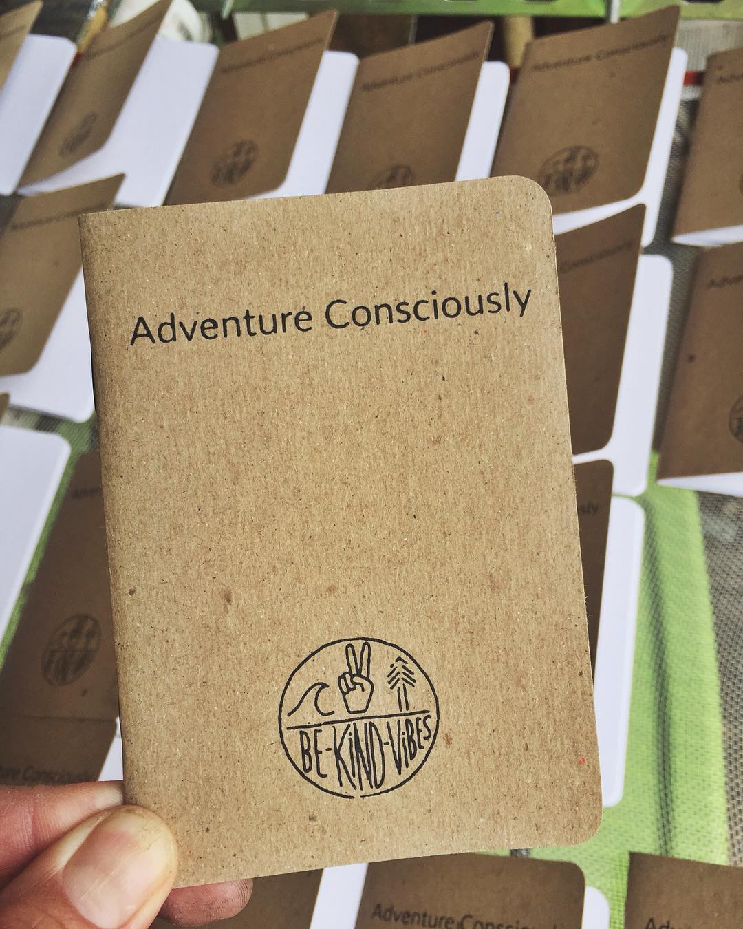 ~ Scout Journal ~  Sneak peak of the new Scout Journal hot off the printer today. Made in Portland, OR with recycled paper. Fits perfectly in your back pocket so you can document all your conscious adventures.  Sign up for Tribe Notes through our...