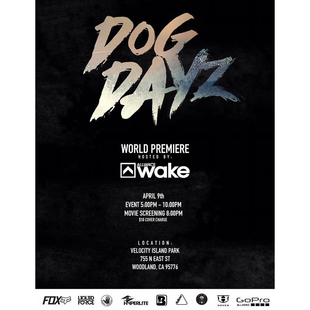 @dogdayzfilm premier this Saturday!  Get on out to join in the fun!  @cookslooks @melissa_marquardt @gopro @boardco @alliancewake