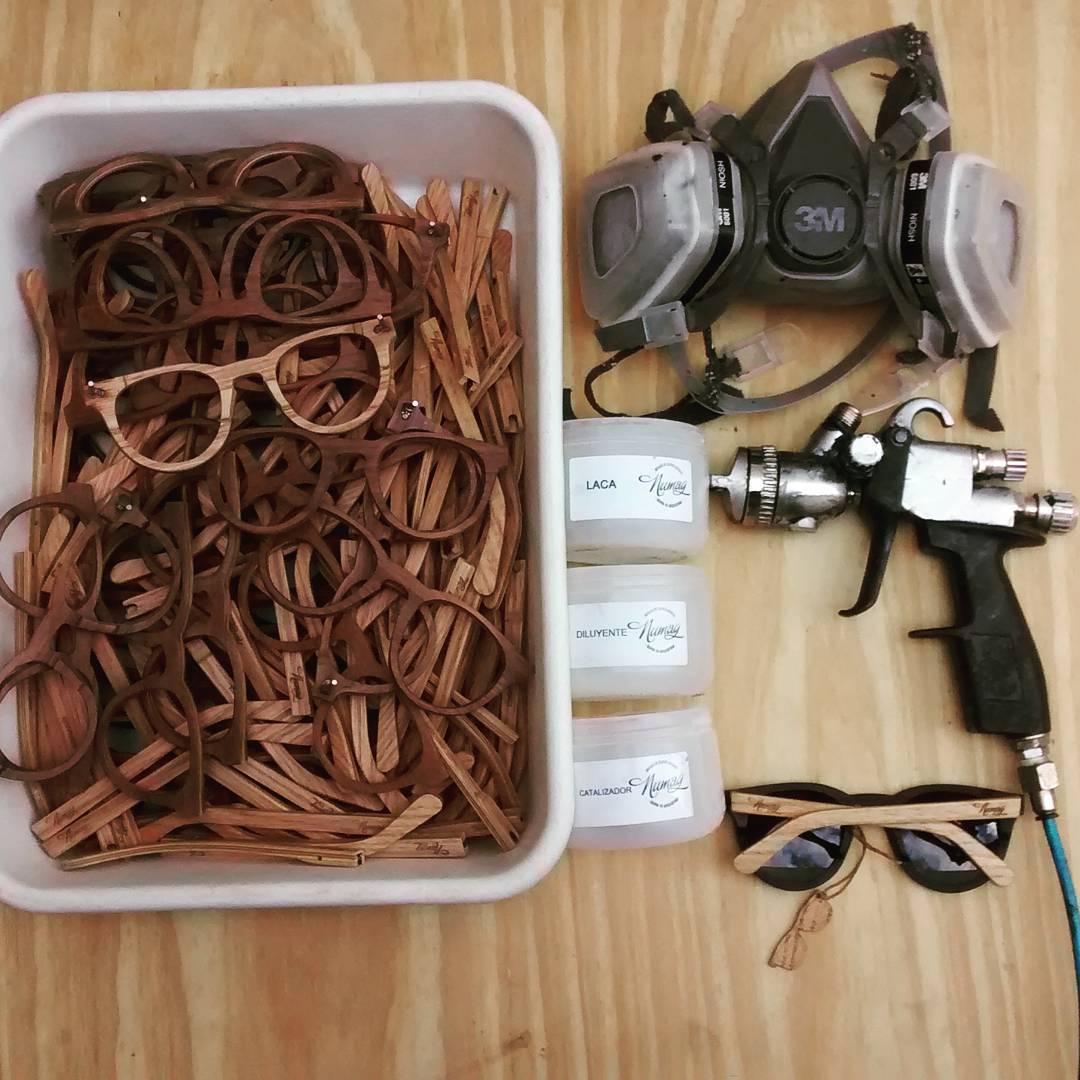 ⚡Numag process⚡  Laqueando las gafas!