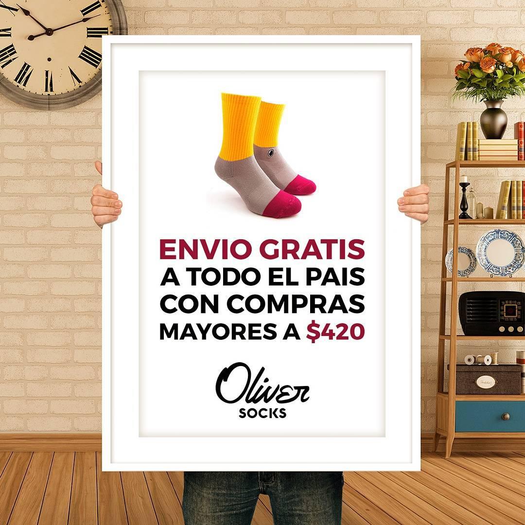 ¿Sabías que en #OliverSocks tenés envío gratis a todo el paíspara comprassuperiores a $420?  Entrá ahora a la web y comprá tu par sin moverte de tu casa. #Oliver #Medias #Cactus #CreaTuPropiaHistoria #Web #Compras #ComprasOnline #Envíos #EnvíoGratis