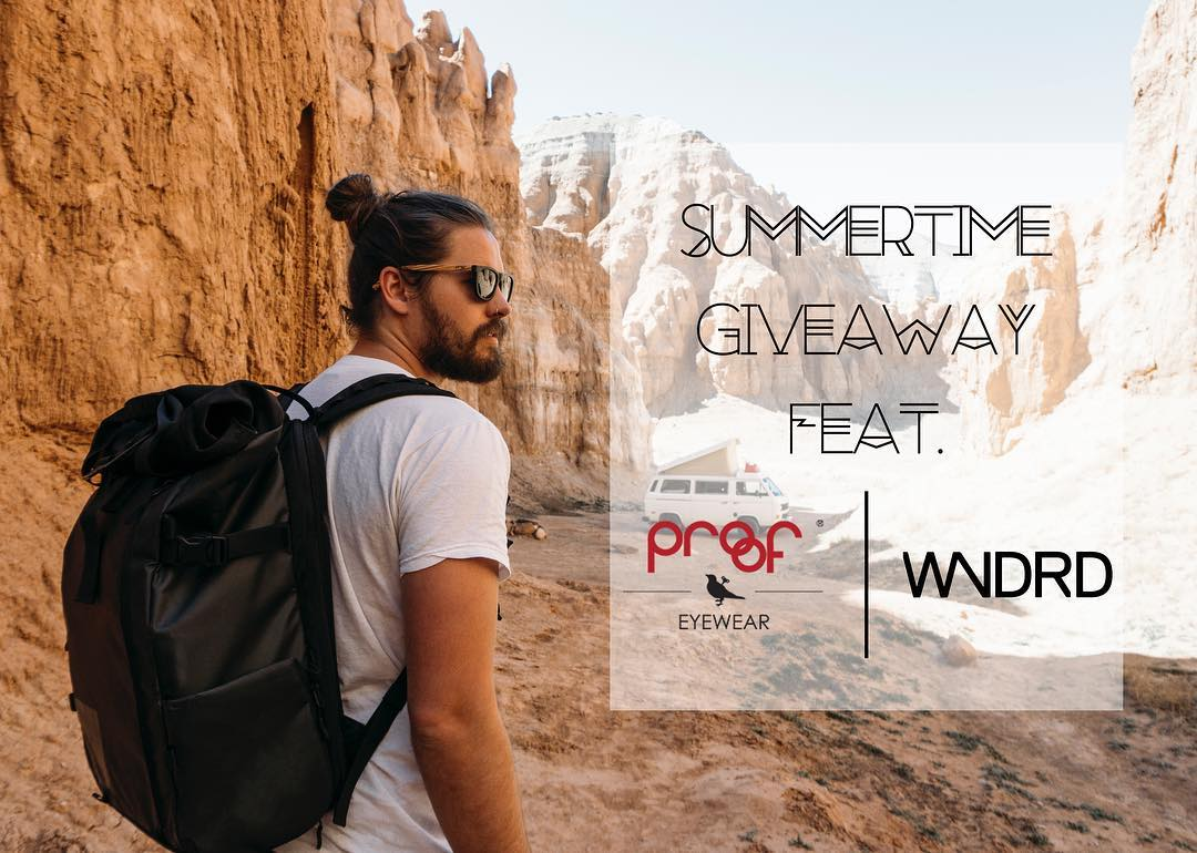 Summertime Giveaway feat. @WANDRD & yours truly! Get in to win one pair of your choice Proof Sunglasses & one PRVKE Pack from WANDRD!  To enter: - Follow both accounts - Tag friends *Each individual tag is an entry, so tag as many people as you want...