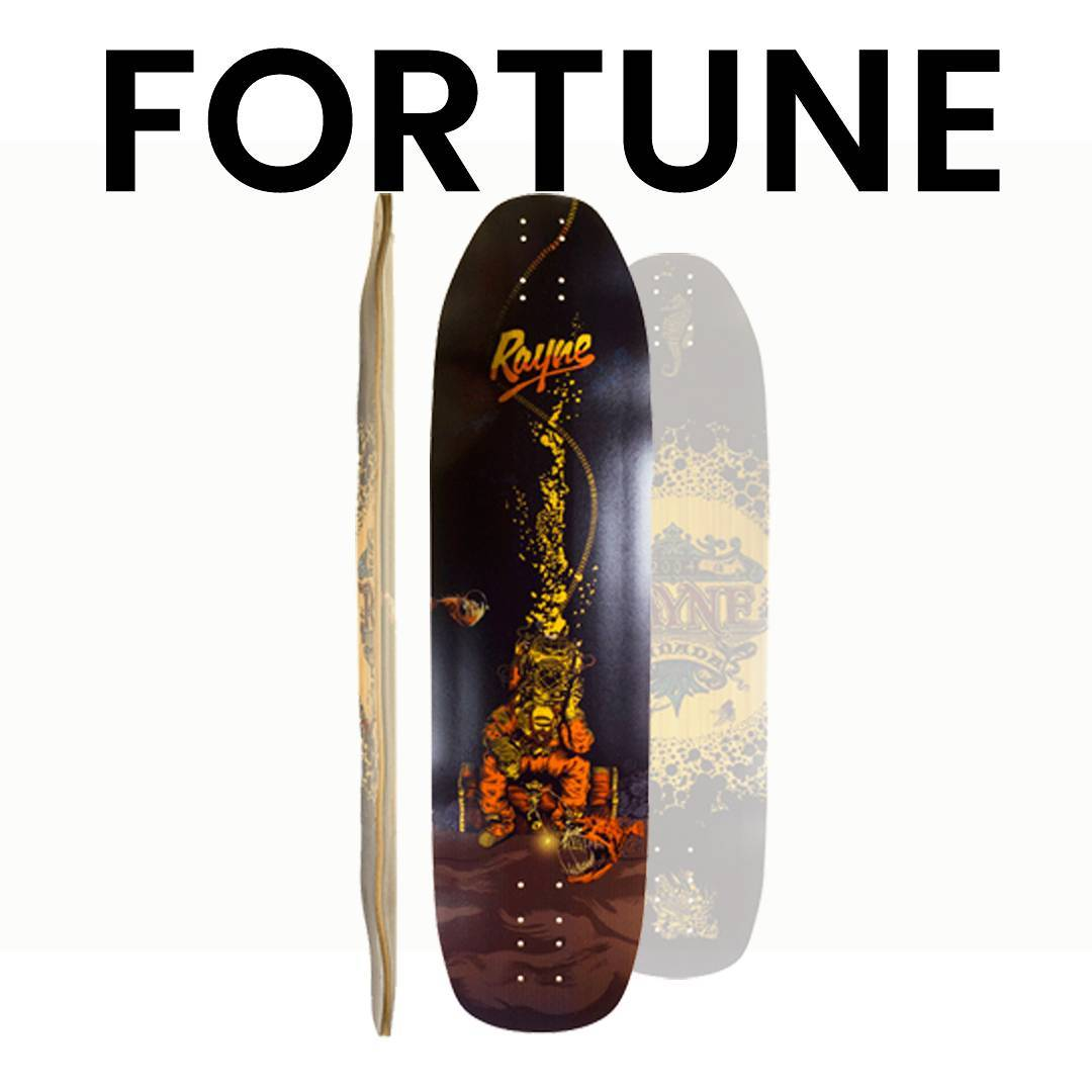 PSWISS likes that Radial Concave! For maximum control and #ninjamoves, trust the #rayne #Fortune . Unchanged from last year except for the sweet graphics from @timdrawsinink  #longboard #longboards #longboarding #newboard #freeride @patrickswitzer