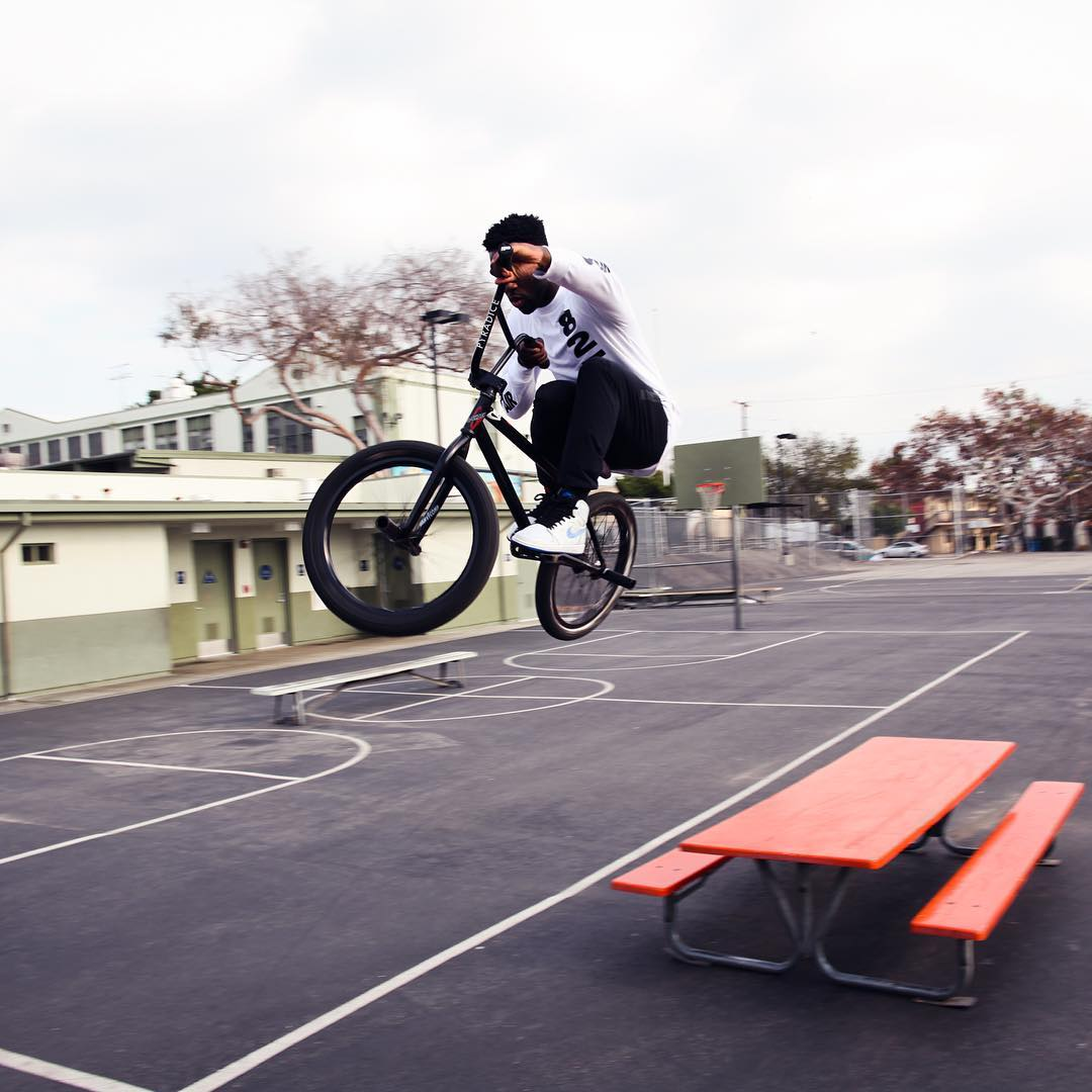 #XGames BMX rider @NigelSylvester tore through the streets of LA in 'Go! 2'  Click the link on our profile page to check him out! (