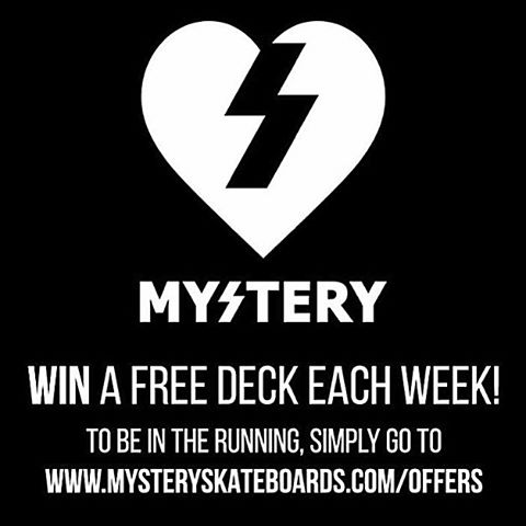We are giving away a FREE deck every week this month. Click the link in the bio to enter.