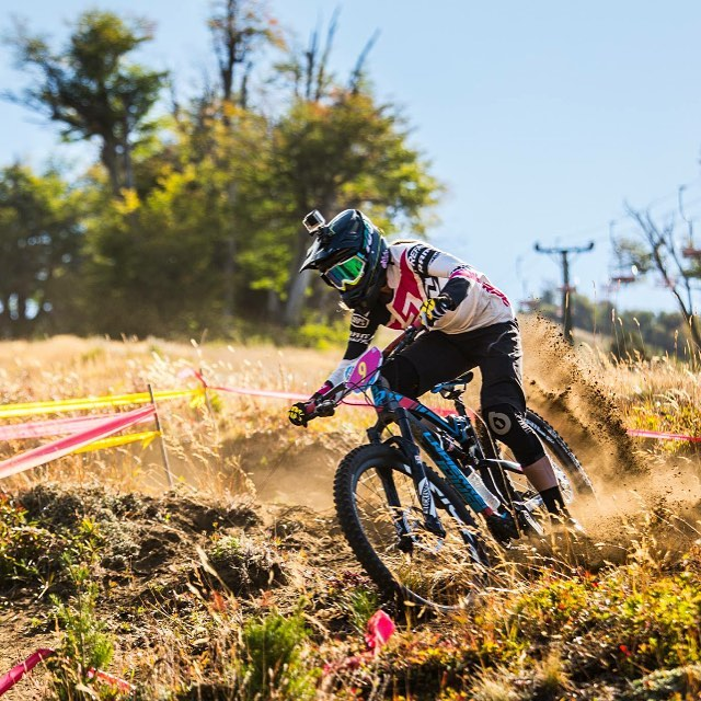 #tbt Stoked to see @rae_morrison kicking up a storm at last weekends @world_enduro #Argentina #SixSixOne #661Protection #ProtectFun Photo - Jérémie Reuiller