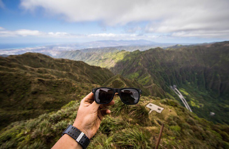 We love to see all the cool places our SOLO shades get to go - Stairway to Heaven.  PC