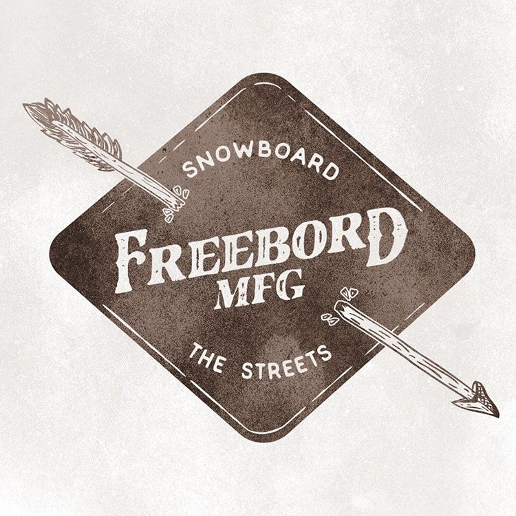 Go explore some new hills this weekend. #SnowboardTheStreets - #Freebord
