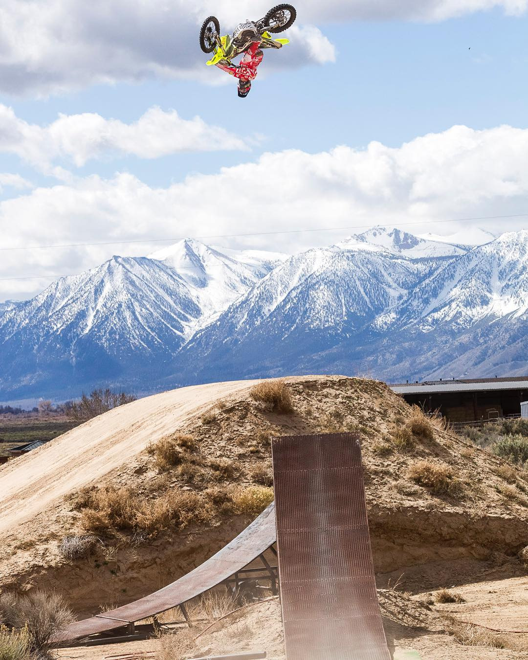 Four-time #XGames gold medalist @Mike_Mason81 is gettin' turnt in Minden, Nevada! (