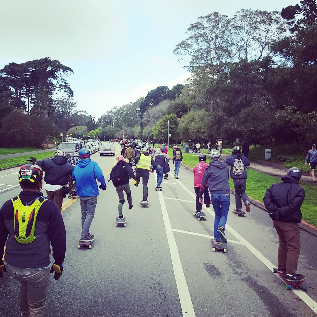 Throwing it back to the Golden Gate Park race!  #sanfrancisco #goldengateparkrace #sunsetsliders #bonzing