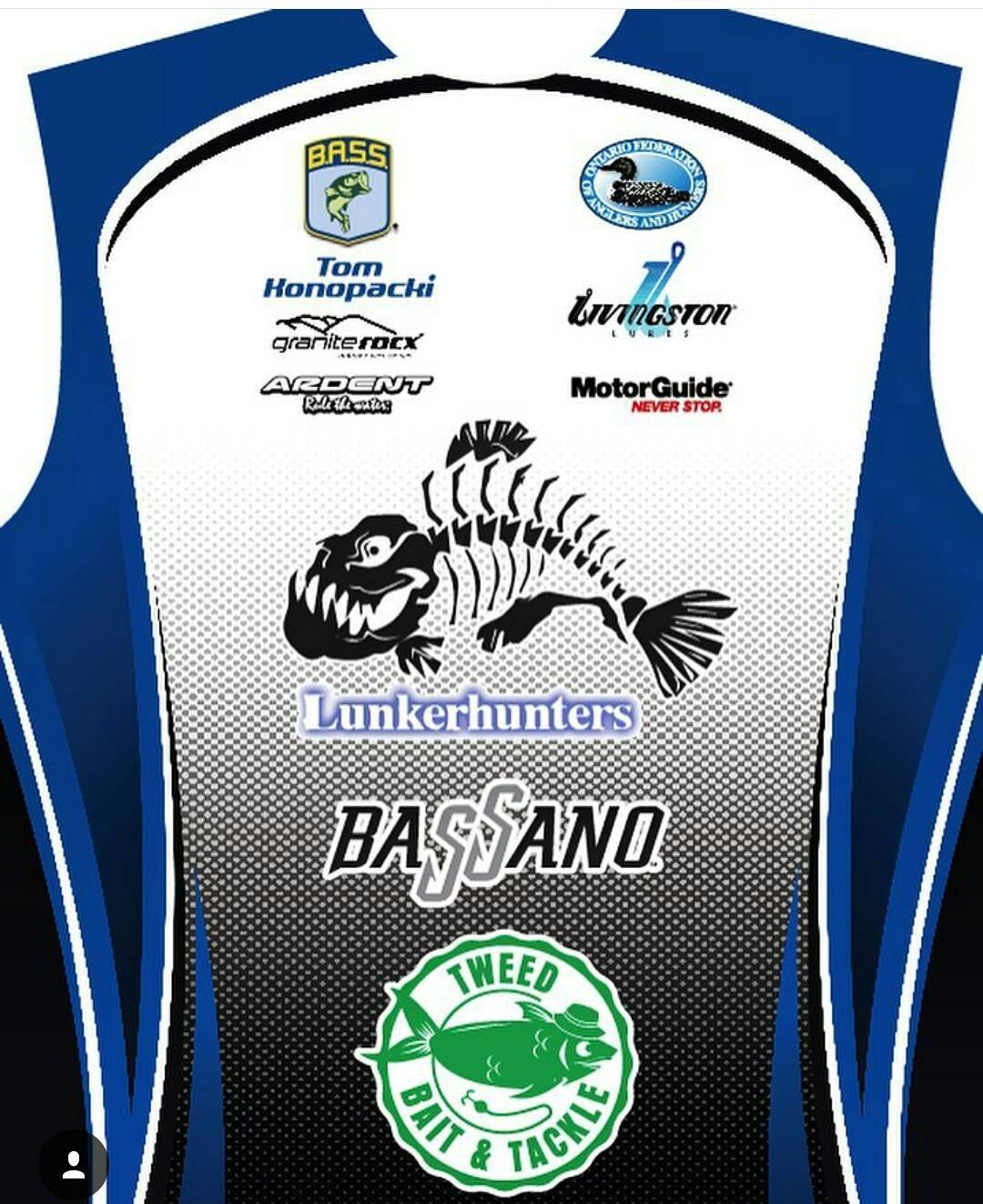 2016 Fishing Jersey from Lunkerhunters with our logo.  Looks sweet! Excited to be a part again this year, thanks guys! @lunkerhunter_tom #lunkerhunters #fishing #getoutside #graniterocx #outdoorsrocx