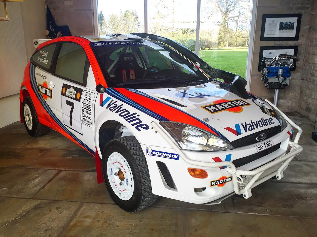 Every time I go to @MSportLTD, I thoroughly enjoy eyeing this beauty: the exact Ford Focus WRC car that my favorite driver Colin McRae won the Safari Rally with in 1999. Amazing piece of history and engineering. #legend #ColinMcRae #ifindoubtflatout...
