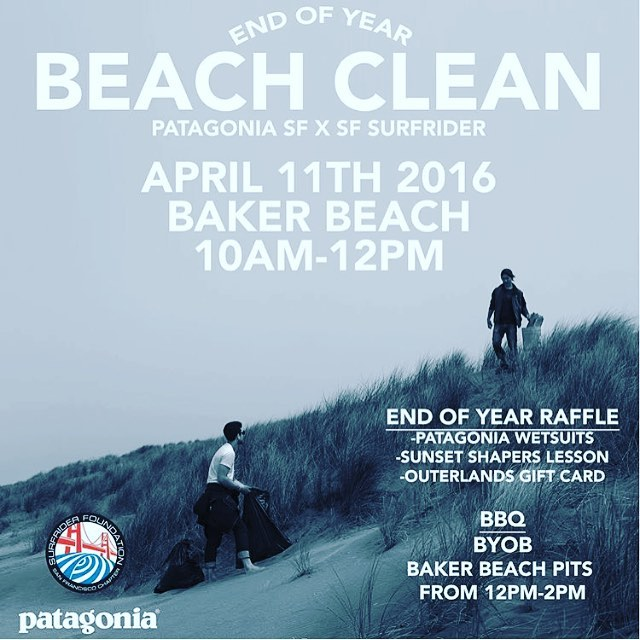 Proud to be a part of this #BeachCleanUp crew this coming #Monday (yep, Mon!) with pals @sfsurfrider @patagoniasf @5gyres at beautiful  #BakerBeach