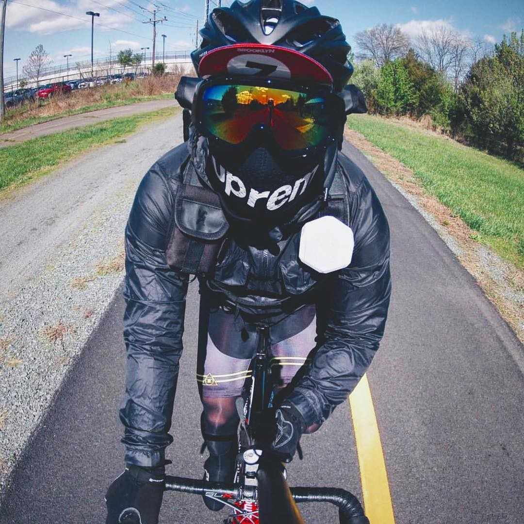 Ride with us #Boombotix  #Essentials #design #audiophile #bikemessenger #speakerhead