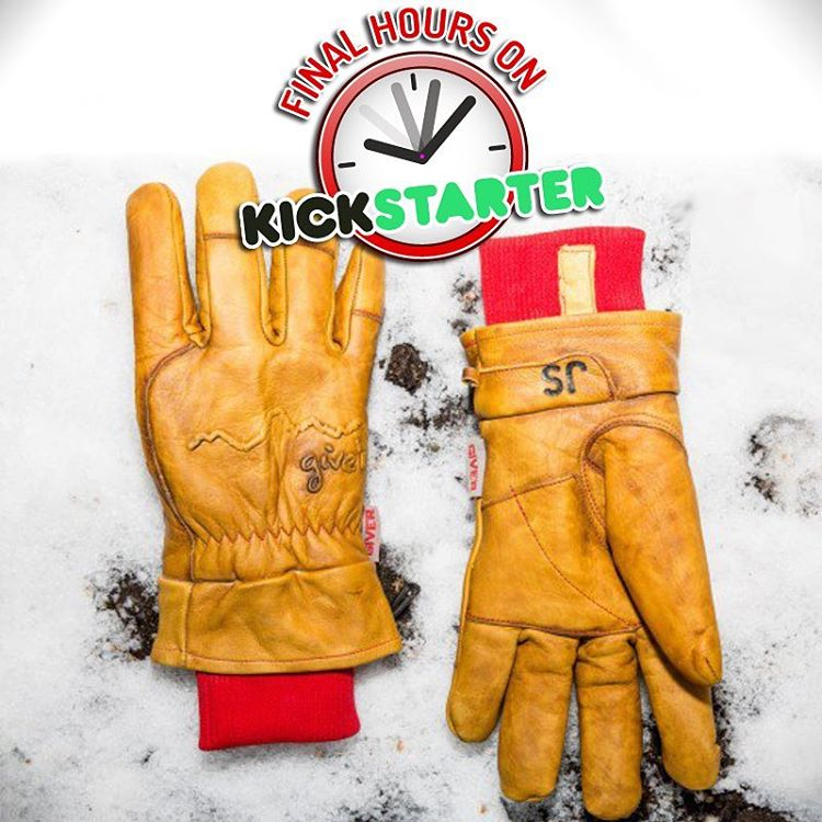 Today's our final day of our Kickstarter campaign. We couldn't be more thrilled with the results and can't wait to get the gloves out to the world. If you haven't pledged for your discounted pair yet make sure and do so! Link in our bio!!...