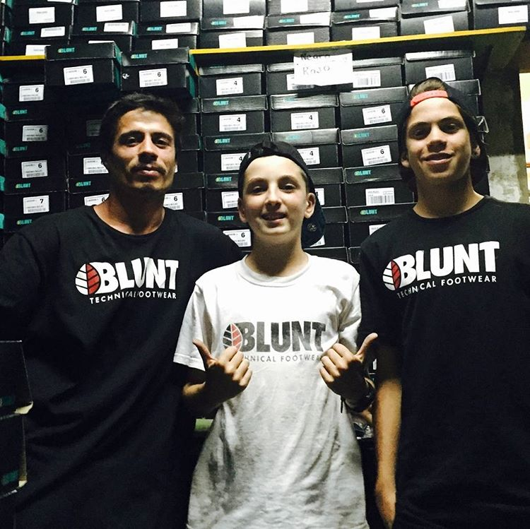 #BluntFootwear warehouse & soldiers. Distribuimos a los mejores skateshops desde 2002 #shinedistribution