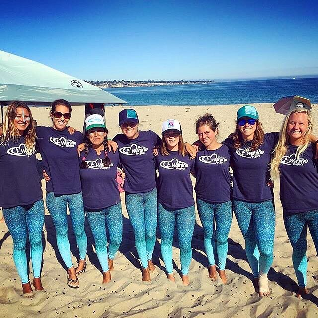 BE PART OF SOMETHING BIGGER THAN YOURSELF  we are so stoked support the #waterwomen of the @thewahineproject non-profit!  They are changing young girls lives everyday through #service & #surfing