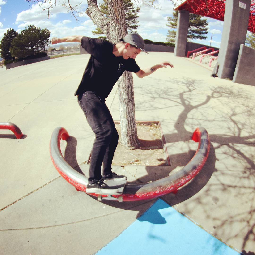 Sssaawwooop! Sean Stratmeyer--@kurkylurk666 board sliding the Spunk!