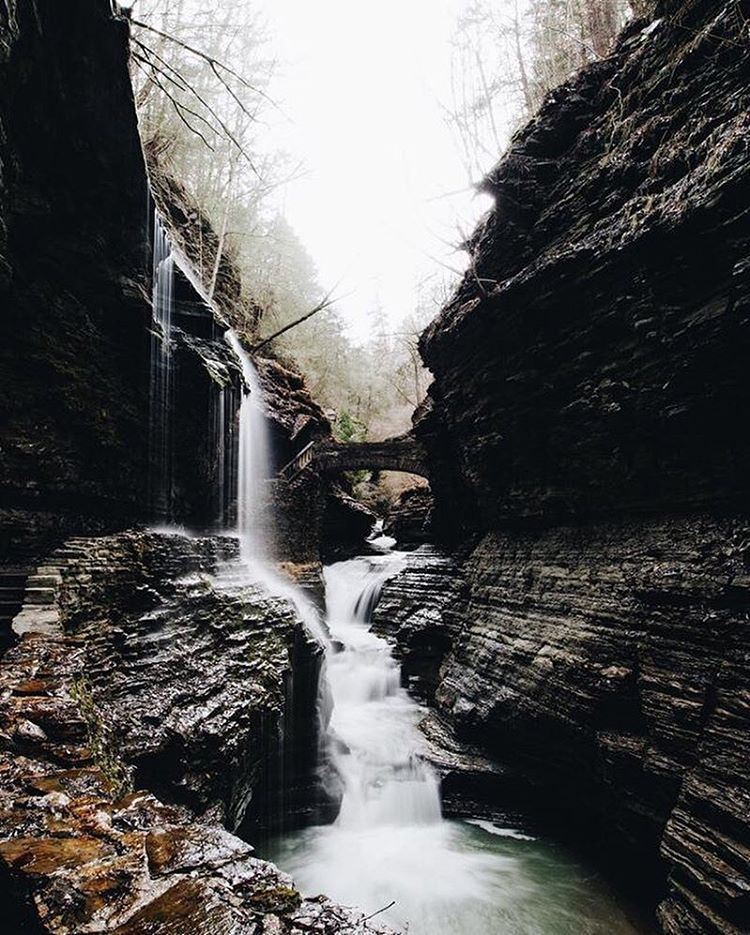 Behold the #peakdesignxlumoid GRAND PRIZE WINNER: this gorgeous waterfall shot by @mimskyle! You win a @peakdesign Everyday Messenger and a @gopro Session from @lumoidit! Please reach out to us via direct message with your contact email.  Thanks to the...