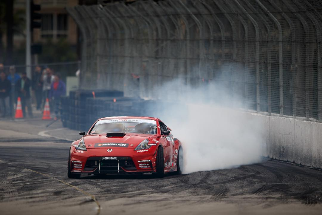 The track dried up a enough for @geoffstoneback to kill some tires in practice today. #FDLB