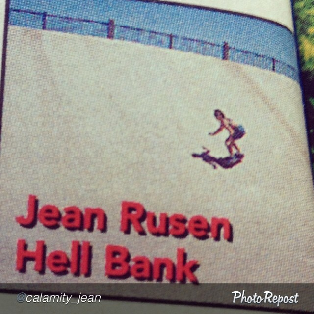 "Radness from resident #EXPOSURE judge Jean Rusen. This shot in @thrashermag was actually her first ""exposure."" #skate #skateboarding #skatelife by @calamity_jean ""#tbt #throwbackthursday Throwing it back to 1994, the year skateboarding hit me like an..."