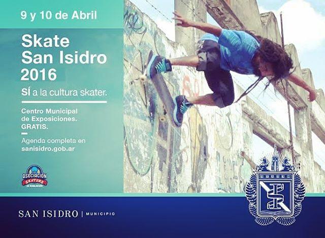 Hoy y mañana estamos con un stand de #deslizate en el Festival de skate de San Isidro. Vamos a estar vendiendo, exponiendo y haciendo exhibiciones en vivo. Los esperamos! #deslizate #skate #feria