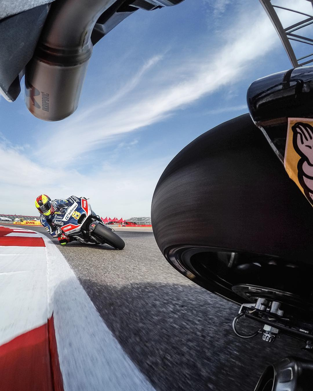 Gettin' low with @motogp this weekend at the #AmericasGP! #GoPro #texas