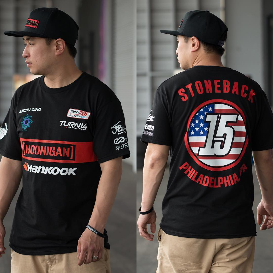 @geoffstoneback team gear now available at @formulad Long Beach! Only at our booth, so swing by and get yours while you can.  #FDLB