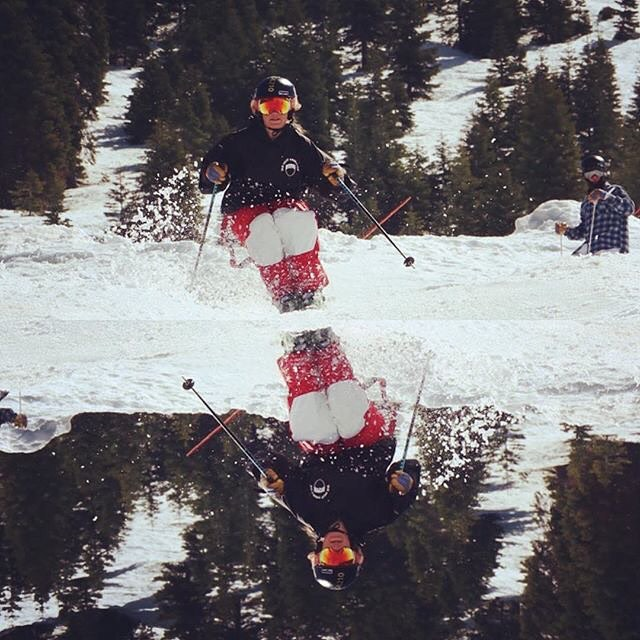#CA89Ambassador @twerksbury has us stoked on spring skiing! ⛷ #CA89 #takeapeak
