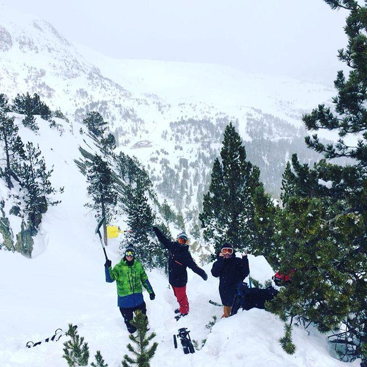 Kíker y reencuentro con @pep_chez @mati_radaelli es probable que hace 15 años atrás ya compartiamos días de snowboard como hoy!!