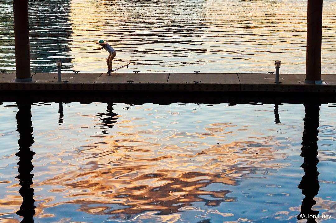 #orangatangambassador @iamcindyzhou skating between watery textures