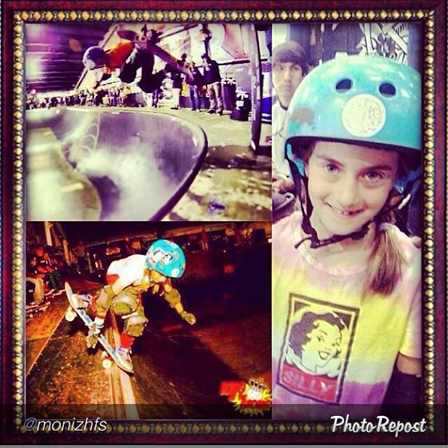 "Happy Birthday @minnask8!!! #skateboarding #skate #skatelife by @monizhfs ""Happy Birthday @minnask8!! You are 8! Which is pretty great since it rhymes with skate! I love you kiddo! #yourmomisadork #skatergirl  Special thanks to @flying_arianna  for the..."