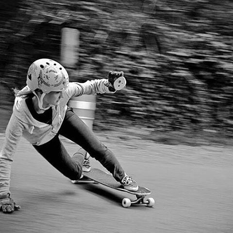 Luv me some @alex_kubiak_ho_chi ❤❤❤ @Regrann from @longboardgirlscrew -  Polish & French rider @alex_kubiak_ho_chi shot by Yannick Clin. Enjoy the Sunday everyone!  #longboardgirlscrew #womensupportingwomen #skatelikeagirl #lgcfrance #alexkubiakhochi...
