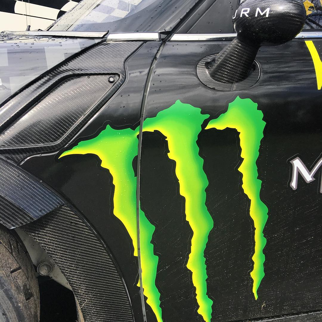 Here's the last teaser shot of the JRM Mini RX before I show you the full 2016 @monsterenergy livery tomorrow, who's excited now?